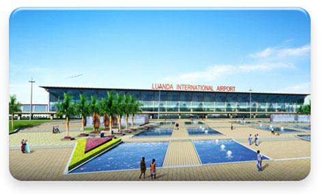 Novo Aeroporto Internacional de Luanda, Angola, deverá entrar em funcionamento em 2016