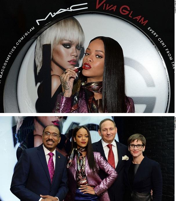 Rihanna, ONU e Fundo M·A·C se unem para alcançar jovens com tratamento de HIV