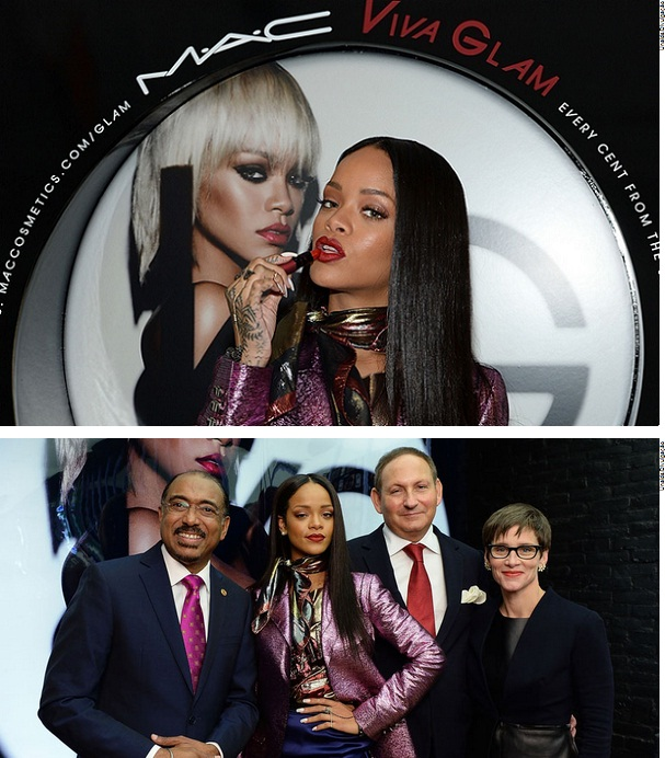 Rihanna Campanha Unaids